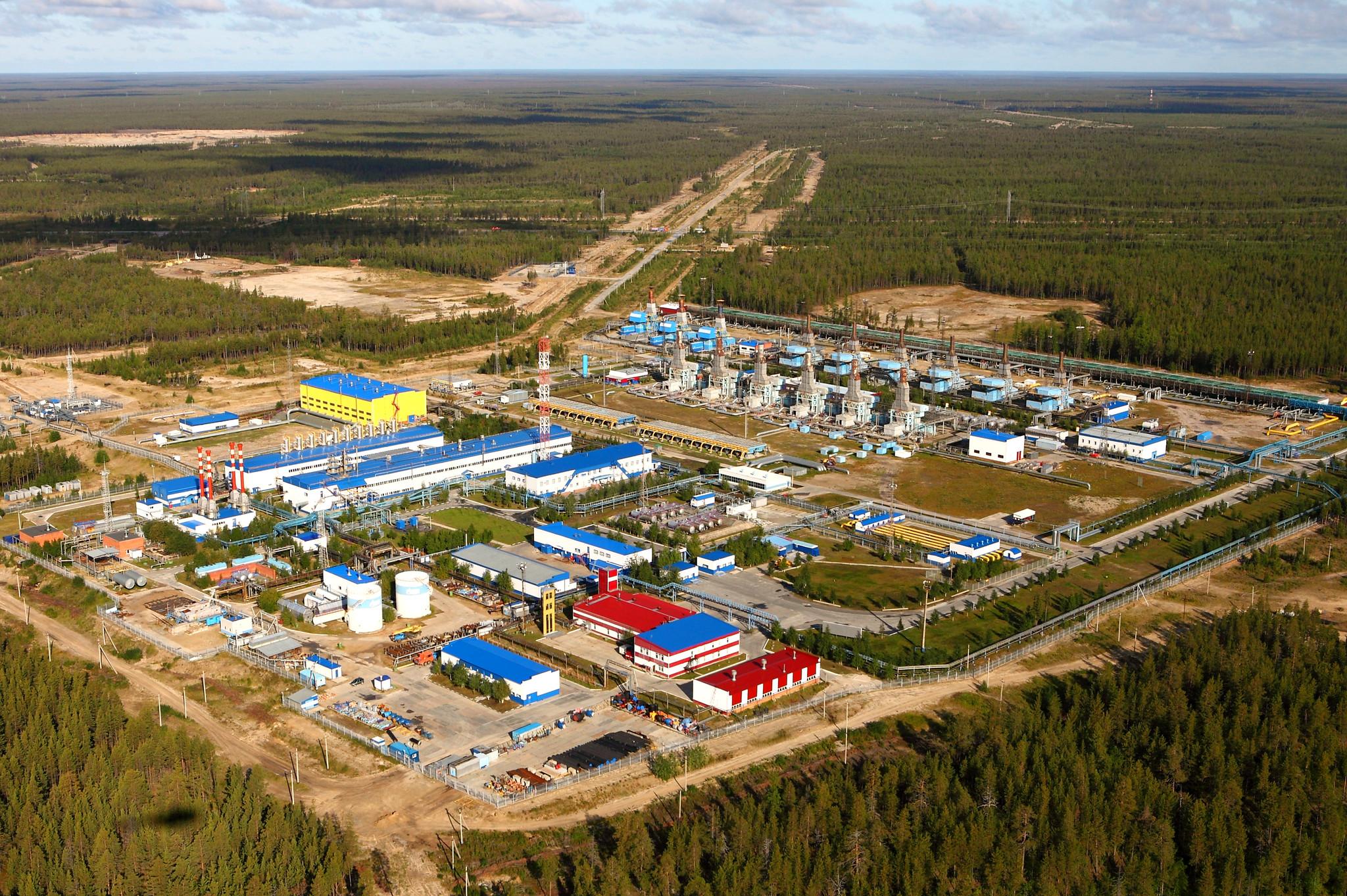 Komsomolsk gas field