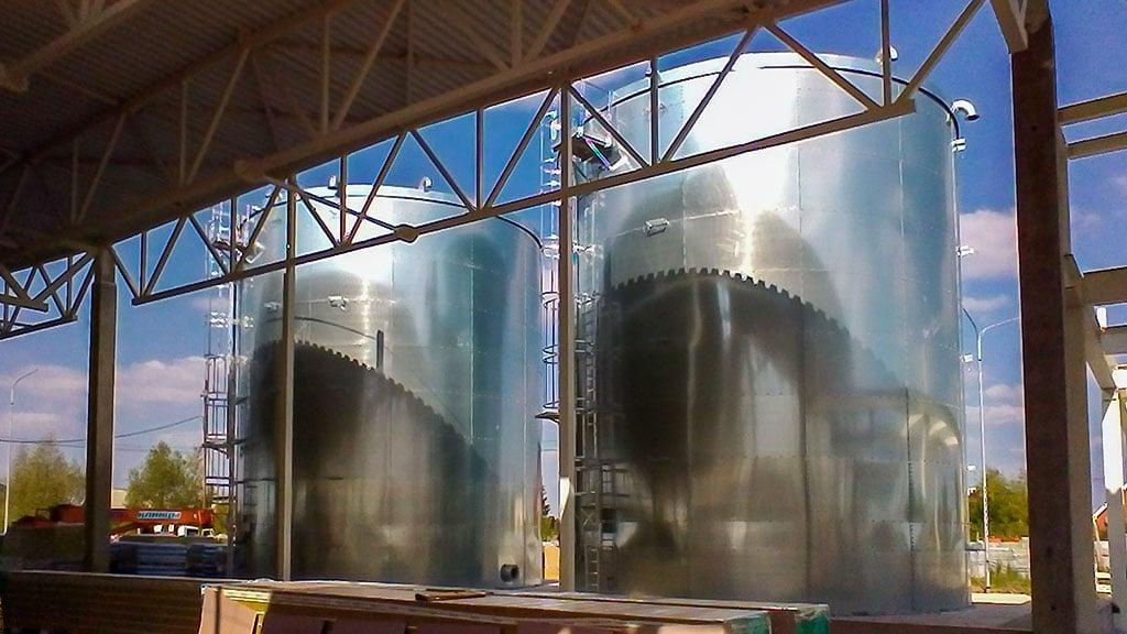 Fire water tanks