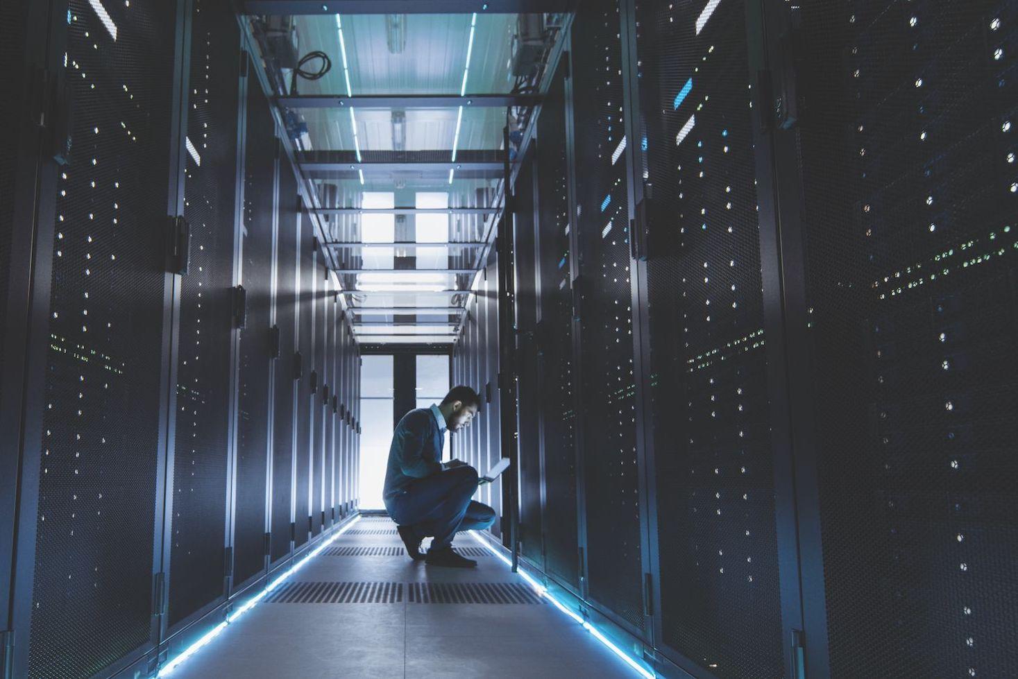 Data center for digital transformation of the enterprise