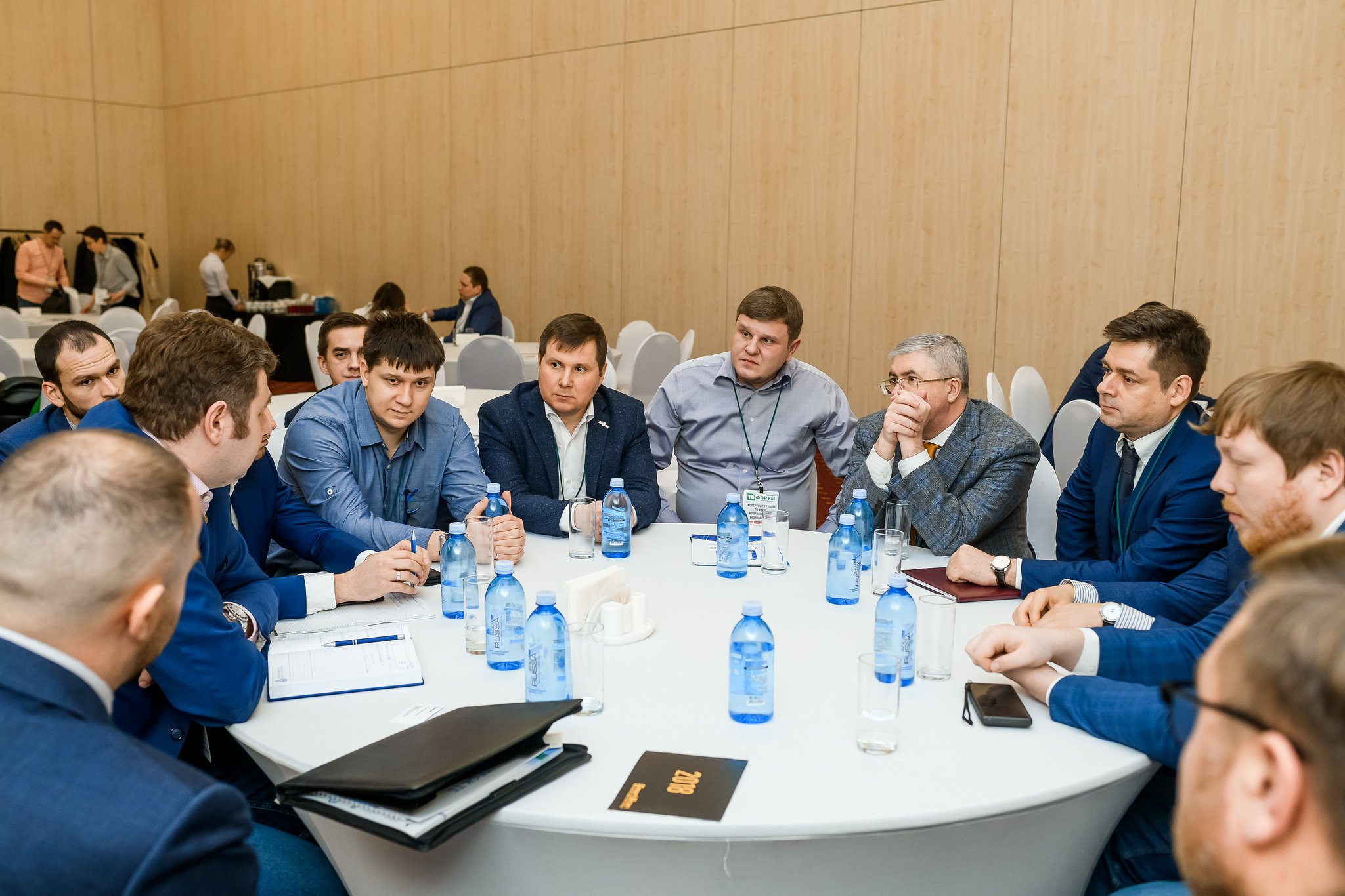15 private meetings with customers from key industries of the Russian economics in VIP-Lounge at TB Forum – have a chance to join!